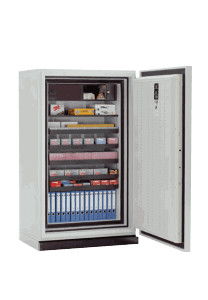 Fireproof data cabinets